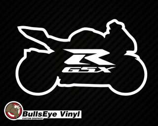 Suzuki GSX R 6 Vinyl Die Cut Decal Window Sticker gsxr