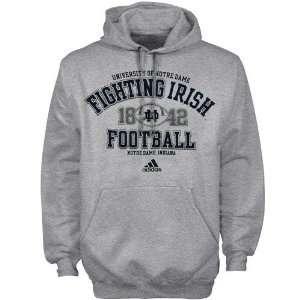 adidas Notre Dame Fighting Irish Ash Gut Check Football