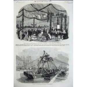1858 Prince Albert VictuallerS Asylum Docks Blackwall