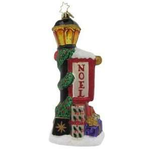Night Glow Noel Christmas Ornament