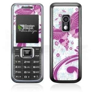 Design Skins for Samsung E2100   Pink Butterfly Design