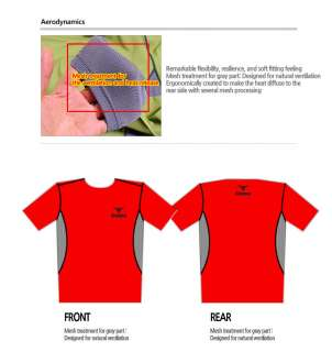 New Mens Outdoor Hiking Premium TOP Shirt Red (SKT30)