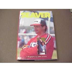 Tom Seaver AUTO SIGNED Biography w/COA 1986: Sports