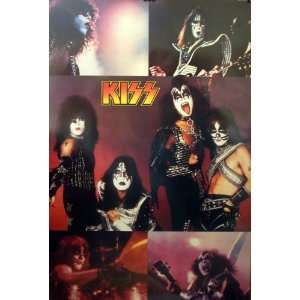 Kiss 23x35 Love Gun Collage poster