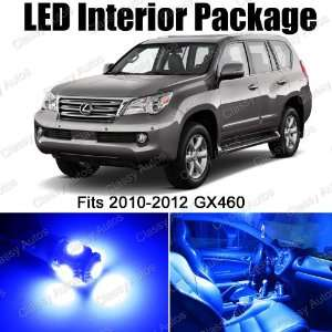Lexus GX460 BLUE Interior LED Package (12 Pieces
