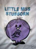 MR MEN LITTLE MISS STUBBORN SHIRT PUPPY CAT DOG COUTURE
