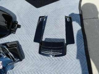 2010 Harley Davidson FLHX Street Glide Complete Paint Set Vivid Black