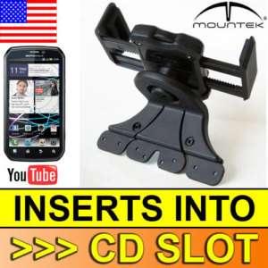MOUNTEK Car Mount Motorola Photon 4G Kit Auto CD Dash