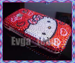 LG Vortex VS660 Verizon Hello Kitty Bling Case Cover #3