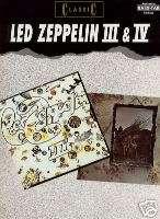 Led Zeppelin Classic III IV BASS GUITAR MUSIC BOOK TAB