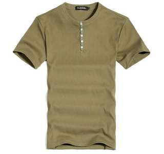 Mens T Shirt Showtime Dexter Kill Shirt Henley Short Sleeve Slim Tee