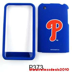 FOR APPLE IPHONE 3G S MLB PHILADELPHIA PHILLIES SNAP ON CASE COVER