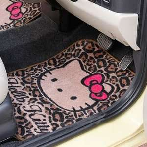 Hello Kitty Vertical Car Mat Animal Print Toys & Games