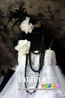 Vocaloid Hatsune Miku LOLITA white Cosplay Costume