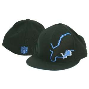 Detroit Lions Master Class Fitted Baseball Hat (Size 7 3