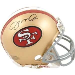 Joe Montana San Francisco 49ers Autographed Throwback Mini