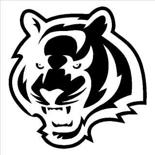 Cincinnati Bengals 6 inch Window Sticker Decals NFL AFC
