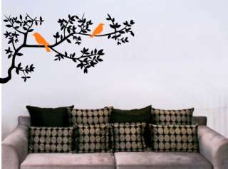 Tree branch and Bird II Wall Decal