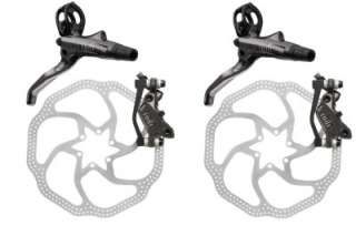 AVID CODE R DISC BRAKE SET 200MM HS1 FRONT AND REAR 203MM 8 HYDRAULIC