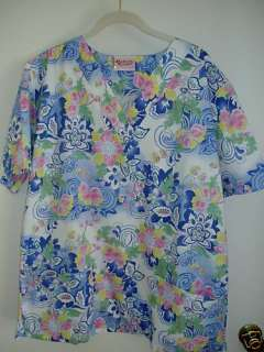 SALE NURSE UNIFORM SCRUB TOP ASIAN SHANGHAI SZ XS NEW