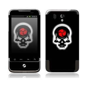 HTC Legend Decal Skin Sticker   Samurai Death Skull