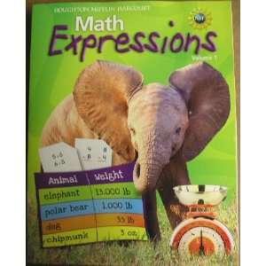 Mifflin Harcourt Math Expressions (Math Expressions 2009   2012) Hm
