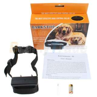 Control Electronic Dog Training Static Impulse Shock Vibrate Collar