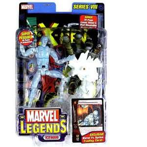 Marvel Legends Series 8  Iceman Action Figure Toys & Games