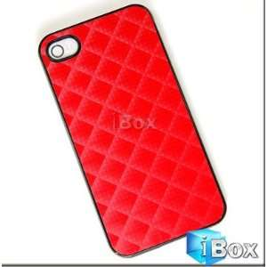 Red Hard Case Cover of iPhone 4 4G Cell Phones & Accessories