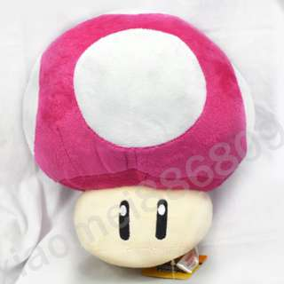 Super Mario Bros Mushroom 12 plush toy doll
