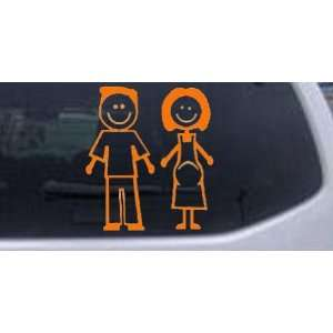 Expecting Family Stick Family Stick Family Car Window Wall