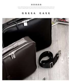 Mens Laptop Notebook Case Briefcase Shoulder Bag M012