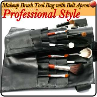 Artist Pro Makeup Brushes Belt Strap Tool Case Bag E110