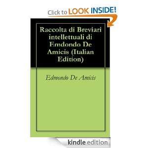 Raccolta di Breviari intellettuali di Emdondo De Amicis (Italian