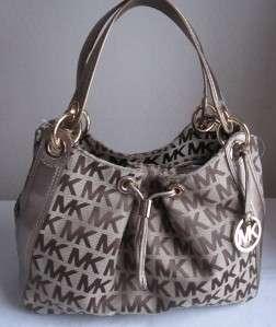 348 MICHAEL KORS LUDLOW Large Shoulder Tote Bag Handbag Purse