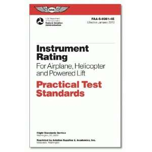 Airplane & Helicopter (Practical Test Standards): Federal Aviation