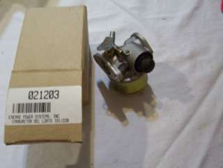 NEW GENERAC GENERATOR CARBURETOR DEL LORTO 191 220 PART 021203