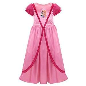 Jasmine Sleeping Beauty Aurora Belle Pink Deluxe Nightgown Dress Toys