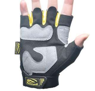 2011 NEW BMX Cycling Bike Bicycle Half Finger Gloves SIZE M XL