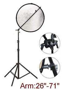 Reflector Grip Extension Arm + Light Stand Kit