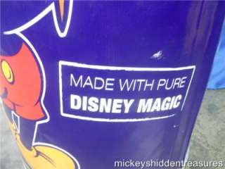 WALT DISNEY WORLD MICKEY MOUSE COMMEMORATIVE LIFE SIZE SOUP CAN