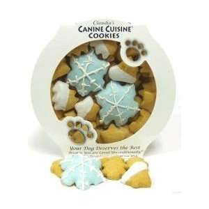 Canine Snowflake Jingle Dog Treats Party Platter  Kitchen