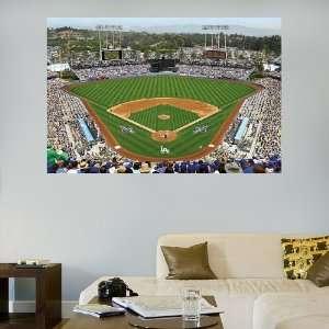 MLB Los Angeles Dodgers Stadium Mural Vinyl Wall Graphic