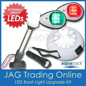 BOAT LED LIGHT KIT/PACK   NAVIGATION/ANCHOR/CABIN/TORCH