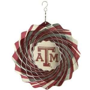 Texas A&M Aggies 10 Team Logo Designer Wind Spinner