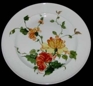 Kaiser China LAURIANE Dinner Plate W Germany Orange & Yellow Flowers
