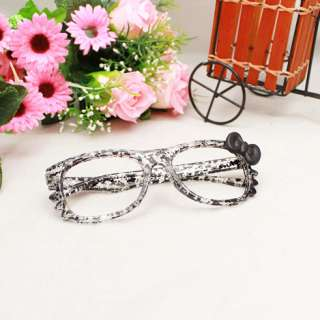 Hello Kitty bow Style Lovely Kawaii Frame Glasses Cosplay For the