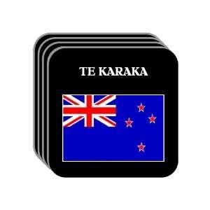 New Zealand   TE KARAKA Set of 4 Mini Mousepad Coasters
