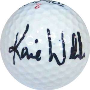 Karie Webb Autographed / Signed Golf Ball