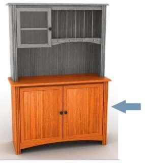 Primitive Furniture Kitchen Hutch Pantry Cupboard Farmhouse Country